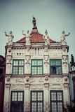Old houses in Gdansk, Poland Stock Images