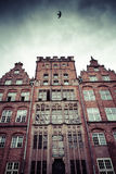 Old houses in Gdansk, Poland Royalty Free Stock Images