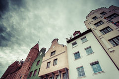 Old houses in Gdansk, Poland Royalty Free Stock Image