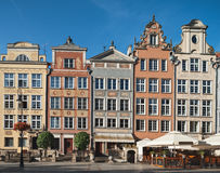 Old houses in Gdansk, Poland Royalty Free Stock Photos