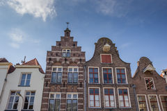 Old houses in the historical center of Deventer Stock Images
