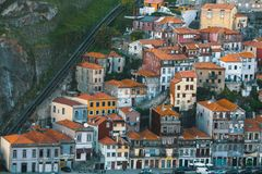 Old houses in the historical centre of Porto, Portugal. Travel. Stock Photo