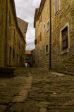 Old Houses in Hum, Istria Royalty Free Stock Images
