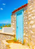 Old houses at Hydra Royalty Free Stock Image