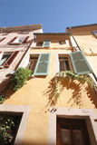 Old houses of Hyeres  Royalty Free Stock Image