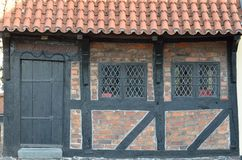 Old Houses In Denmark Royalty Free Stock Photo