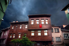 Old houses in Istanbul Royalty Free Stock Photo