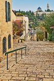 Old houses in Jerusalem Stock Photo