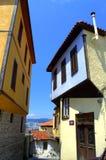 Old town street,Kavala Greece Stock Image