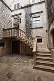 Old houses in Korcula Stock Images