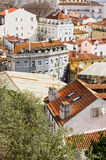 Old houses in lisbon Stock Image