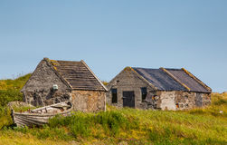 Old houses. Located at the Reykjanes peninsula, Iceland stock images