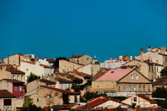 Old houses in Marseille Royalty Free Stock Images
