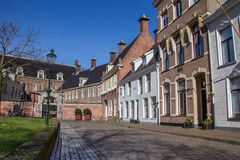 Old houses at the Martinihof in Groningen Stock Image