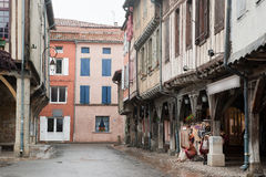 Old houses in Mirepoix France Stock Photography
