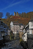 Old houses of Monschau Stock Photography