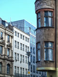 Old houses, new houses in berlin Royalty Free Stock Images