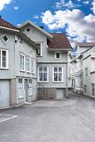 Old houses in Norway Royalty Free Stock Images