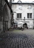 Old houses on the Old city. Tallinn. Estonia Royalty Free Stock Image