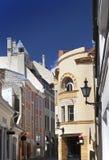 Old houses on the Old city. Tallinn. Estonia Stock Photography