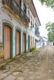 Old houses in Paraty Royalty Free Stock Photos