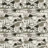 Old houses pattern Royalty Free Stock Photography