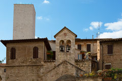 Old houses in Perugia Stock Photos