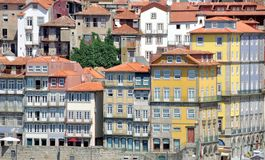 Old houses of Porto Royalty Free Stock Images