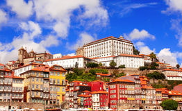 Old houses in Porto, Portugal Royalty Free Stock Image