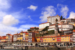 Old houses in Porto, Portugal Royalty Free Stock Photo