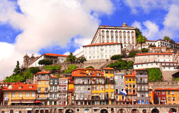 Old houses in Porto, Portugal Stock Images