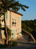 Old houses in Provence village Grambois Royalty Free Stock Images