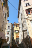 Old houses in Rovinj Royalty Free Stock Images
