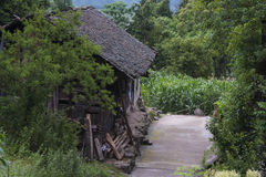 The old houses in rural Guizhou Stock Images