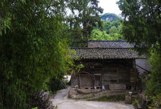 The old houses in rural Guizhou Royalty Free Stock Photo