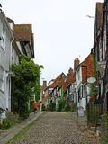 Rye. Old houses Rye, East Sussex, England stock images