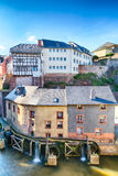 Old Houses in Saarburg, Germany Royalty Free Stock Image