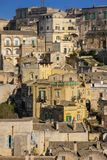 Old town. Matera. Basilicata. Apulia or Puglia. Italy Stock Photo