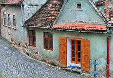 Old houses of Sibiu Stock Photography