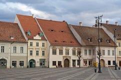 Sibiu main square Stock Photos