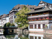 Old houses in Strasbour Royalty Free Stock Images