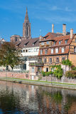 Old houses in Strasbourg Stock Photo