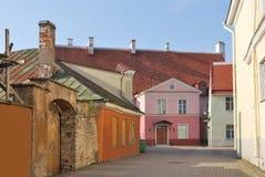 Old houses in Tallinn Stock Image