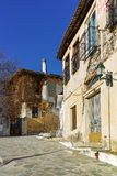 Old houses in town of Xanthi, East Macedonia and Thrace Stock Photos