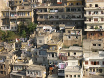 Old houses in Tripoli, Lebanon. The view of Lebanese town Tripoli Stock Images