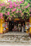 Old houses in UNESCO world heritage Hoi An ancient town Stock Image