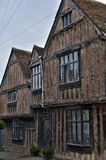 Lavenham UK.Old Houses. This unique village was created some 750 years ago by Henry III when he granted Lavenham `market status` which stimulated the most Stock Image