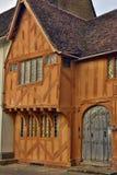 Lavenham UK.Old Houses Stock Photos