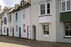 Old houses at Weymouth, Dorset Royalty Free Stock Photo