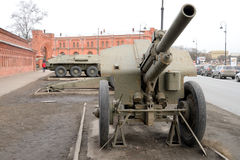 Old howitzer high power. Stock Images